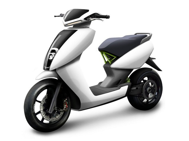 S340, scooter elettrico by Ather Energy