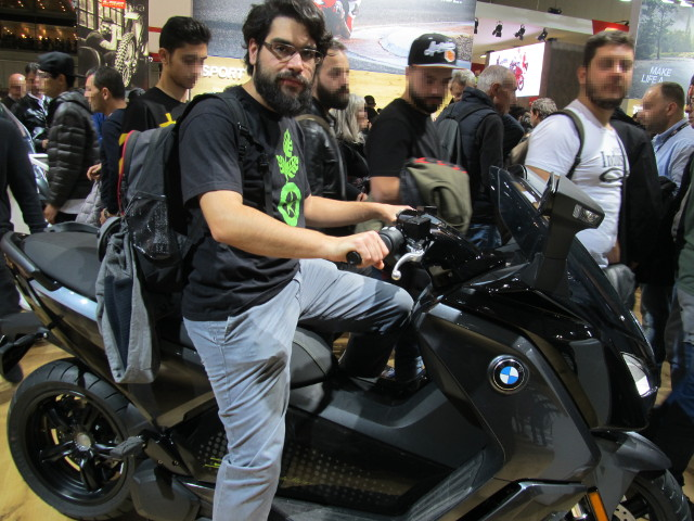 ecoAutoMoto su BMW C Evolution ad EICMA 2018