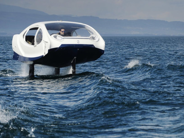 Sea Bubbles, i taxi del futuro!