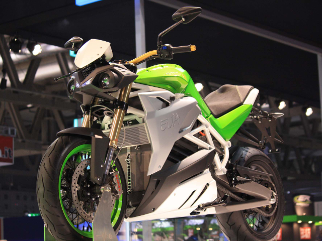 Energica EVA all'EICMA 2014