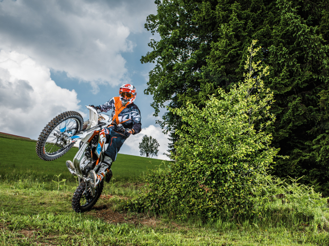 KTM Freeride E 2015 esposta all'EICMA 2014